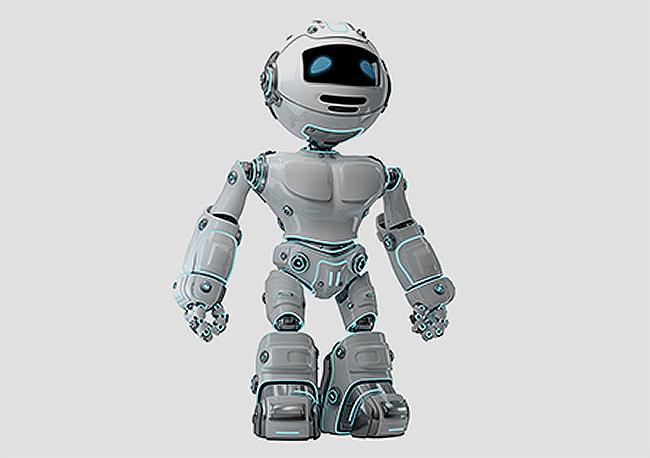 Rolamento de junta robótica