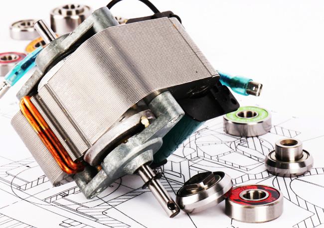 Rolamento de motor industrial